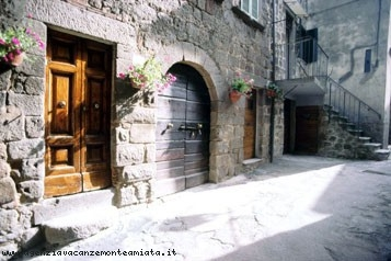 Affitto casa in toscana centro storico di abbadia san for Mobilia san salvatore